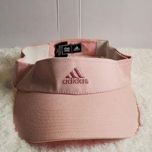 Adidas baby pink visor L/XL